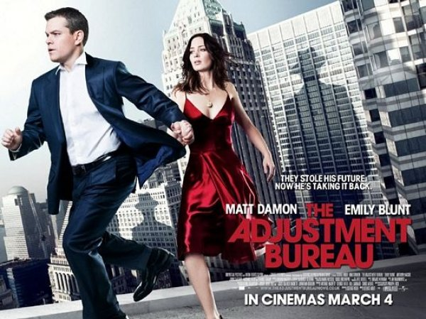 The Cube Pre-Screener: The Adjustment Bureau Starring Matt Damon & Emily Blunt