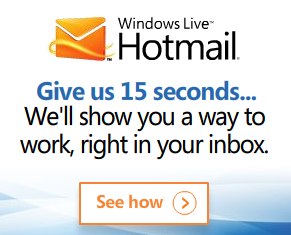 Do you remember when it was cool to have a Hotmail account?