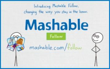 The next big social network: Mashable Follow