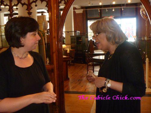 Pinky Up: Tea w/ Rae Lewis Thornton at the London Tea Room