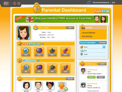 Fooz Kids: A Safe & Fun Online Portal for the Family