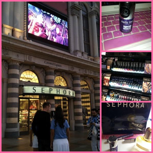 Sin City Fab: Sephora at the Venetian Mini Haul (Photos)