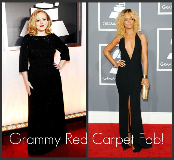 Grammy Fashion: Top 5 Most Fab on the 2012 Grammy Red Carpet