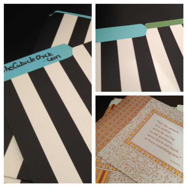 Friday Office Finds: Folder Frenzy with Kate Spade
