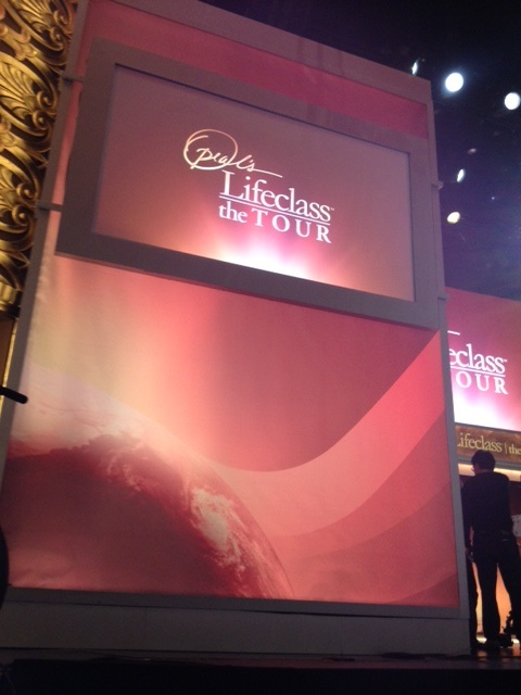 Behind the Scenes at Oprah's Lifeclass Taping in St. Louis