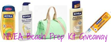 Beauty Giveaway: NIVEA Summer Ready Skin Care Beach Prep Kit