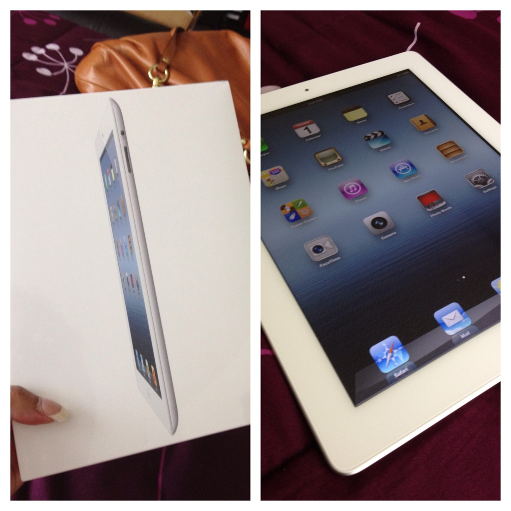 I Am No Longer An Apple Hater: Mama Got An iPad 3