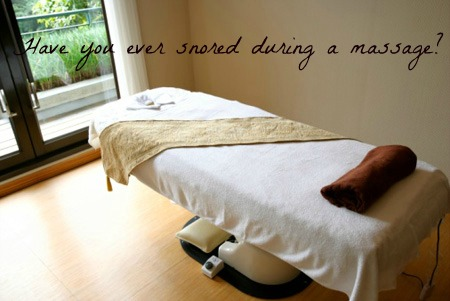 That Awkward Moment When You Start Snoring During a Spa Massage