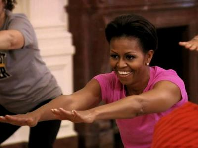 michelle-obama-working-out