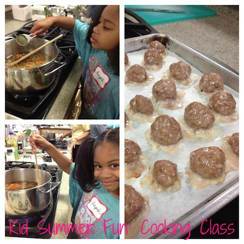 Kid Summer Indoor Fun: Cooking Class with The Chicklet