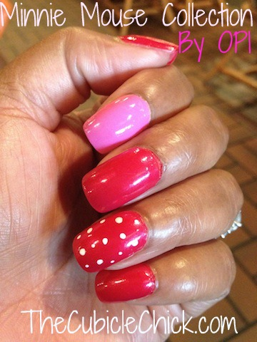 Minnie Minis from Disney's Minnie Mouse OPI Collection