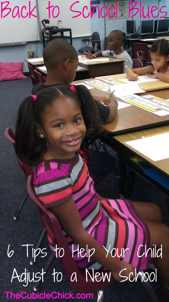 Back to School Blues: 6 Tips to Help Your Child Adjust to a New School