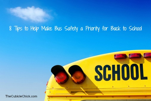 8 Tips to Help Make Bus Safety a Priority for Back to School