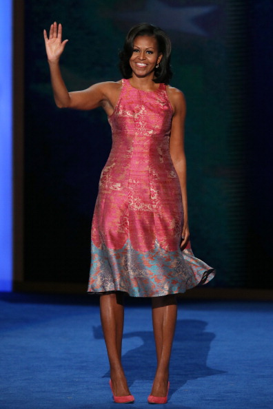 Michelle Obama's Dress at the DNC: Let's Take the Edge Off and Talk about Clothes