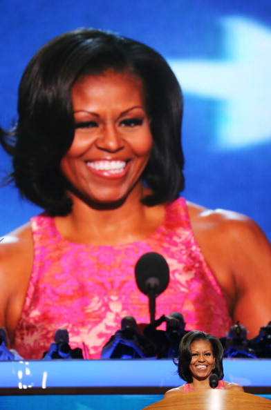 First Lady Fab: Michelle Obama's DNC Style During Speech
