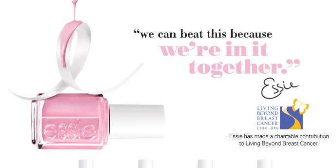 Celebrate Breast Cancer Awareness Month with Essie's Pink Collection