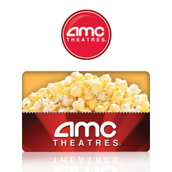 5 Days of Giveaways: Day 2, $25 AMC Theaters Gift Card