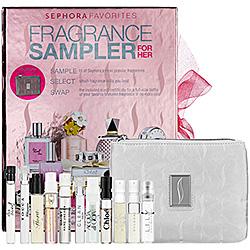 Sephora Fragrance Sampler for Her