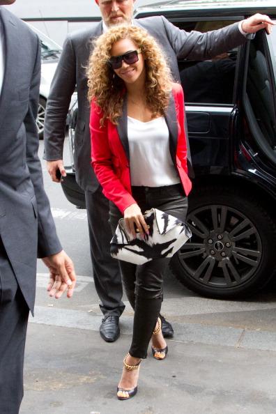 Celebrity Sighting In Paris - June 6, 2012