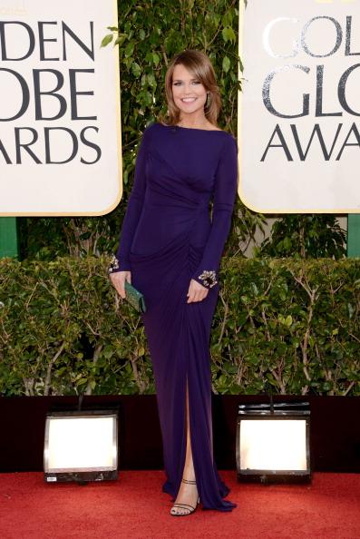 Savannah Guthrie- 70th Annual Golden Globe Awards - Arrivals