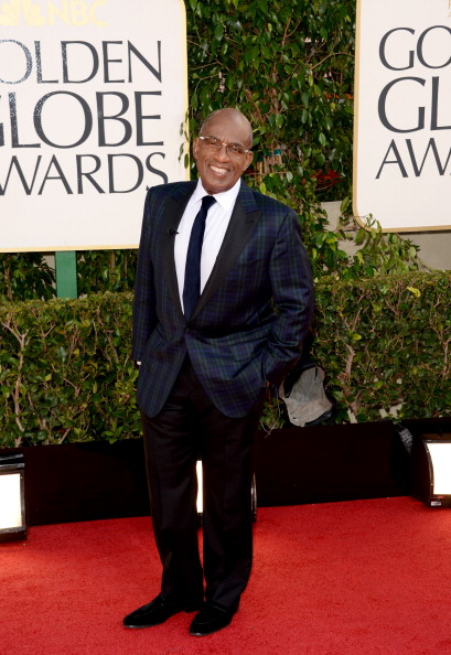 Al Roker- 70th Annual Golden Globe Awards - Arrivals