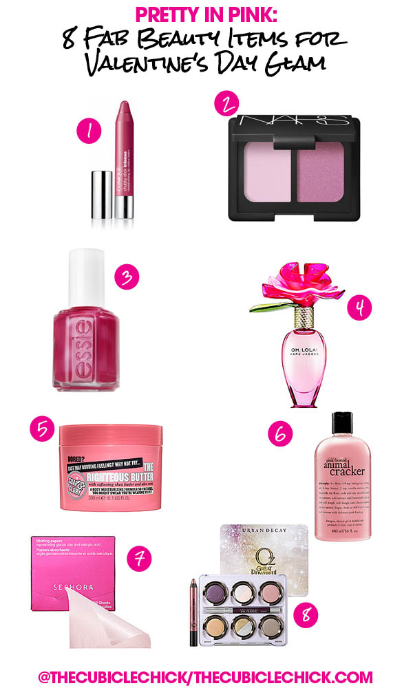 Pretty in Pink: 8 Fab Beauty Items for Valentine's Day Glam