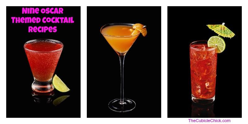 9 Oscar Themed Cocktail Recipes