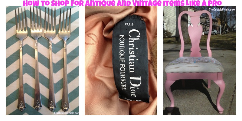 How to Shop for Antique & Vintage Items Like a Pro