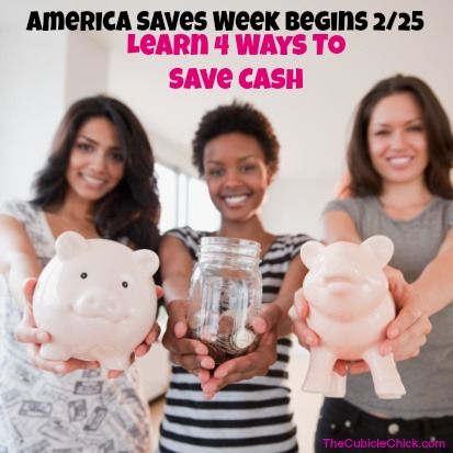 Learn Four Ways to Save Cash