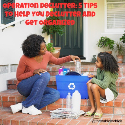 5 Tips to Help You Declutter and Get Organized