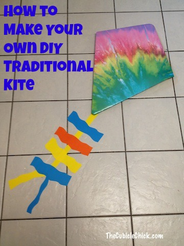 How to Make Your Own DIY Traditional Kite