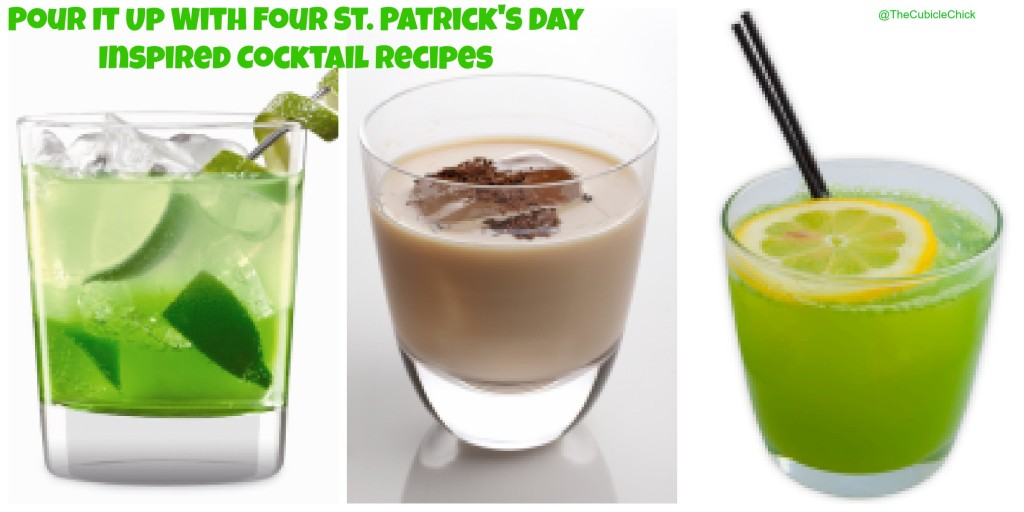 Pour It Up With Four St. Patrick's Day Inspired Cocktail Recipes