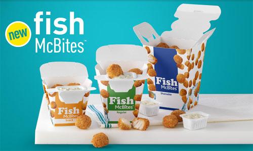 Spring Break Snackin' With McDonald's McFish Bites