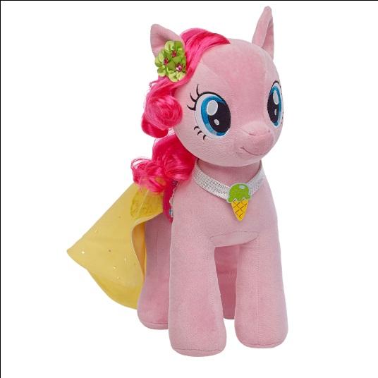 Pinkie Pie My Little Pony plush Build a Bear