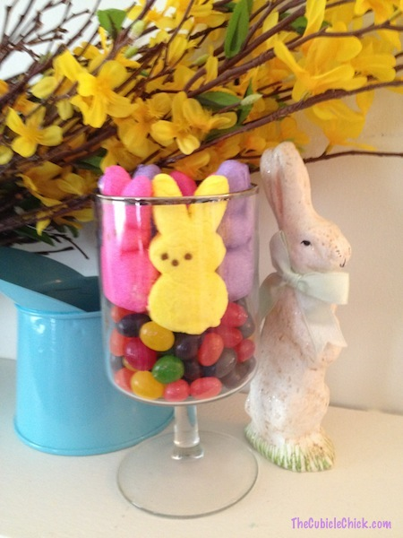 Easter Peeps Whimsical Candle Holder