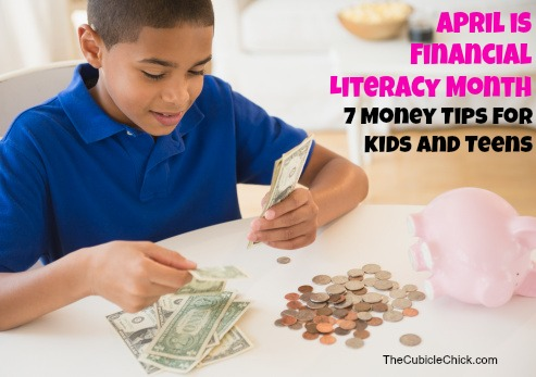 7 Money Tips For Kids and Teens