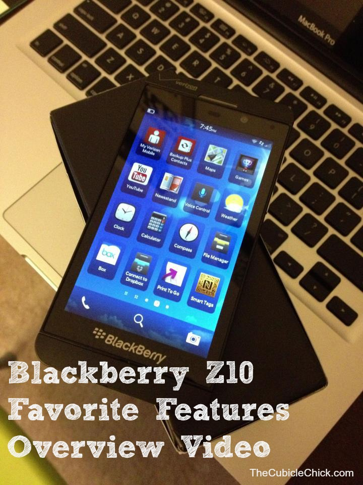 Blackberry Z10 Favorite Features Overview Video