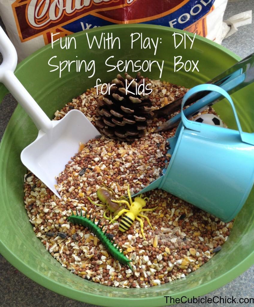 DIY Spring Sensory Box for Kids