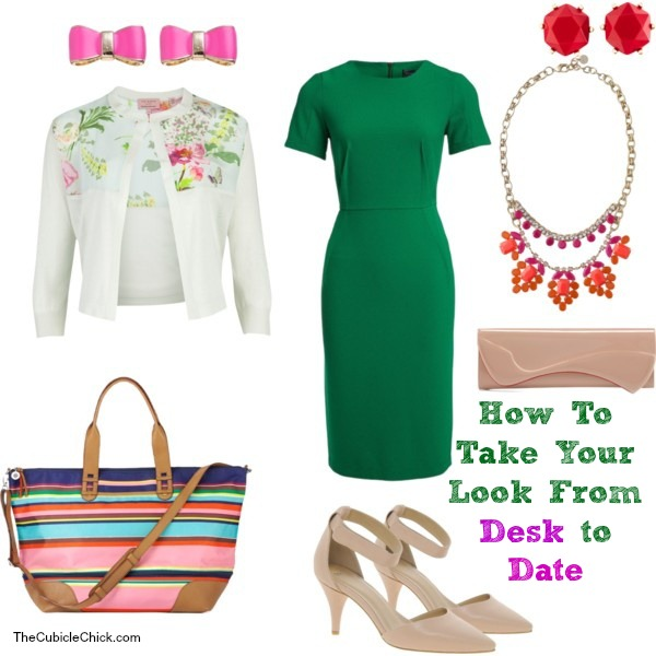 How To Take Your Look From Desk to Date