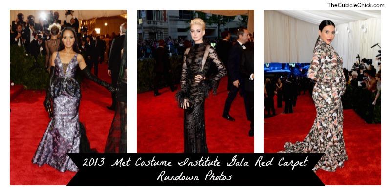 2013 Met Costume Institute Gala Red Carpet Rundown Photos