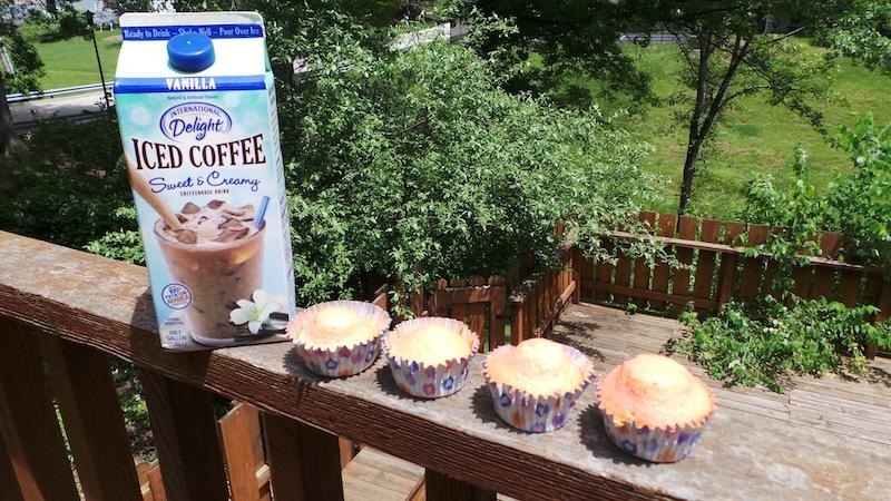 Strawberry Vanilla Coffee Muffins Recipe #WhatsYourID