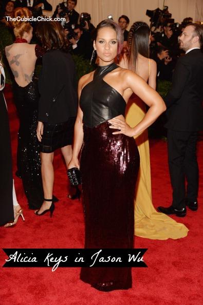 Alicia Keys 2013 Met Gala