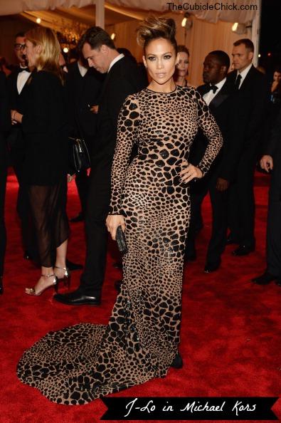 Jennifer Lopez Met Gala 2013