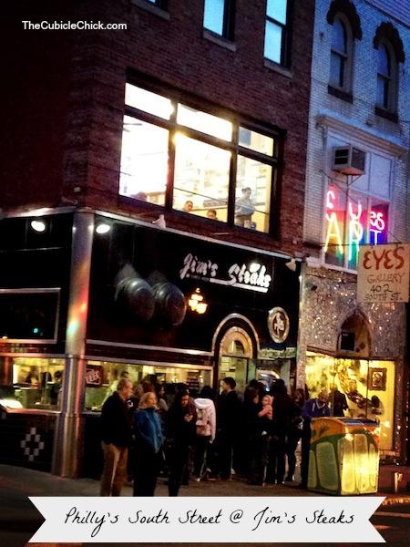 Philadelphia Jim's Steaks South Street