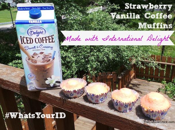 Strawberry Vanilla Coffee Muffins Recipe