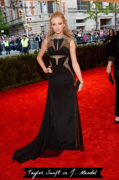 Taylor Swift 2013 Met Gala