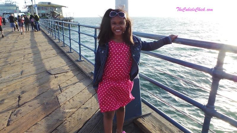 Family travel Santa Monica Pier