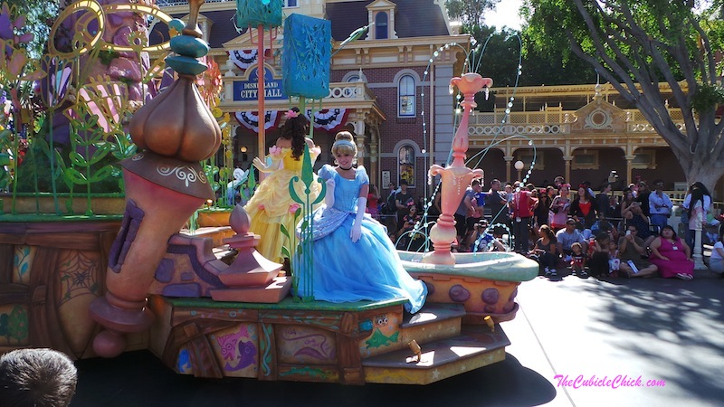 Disneyland Electrical Parade Cinderella