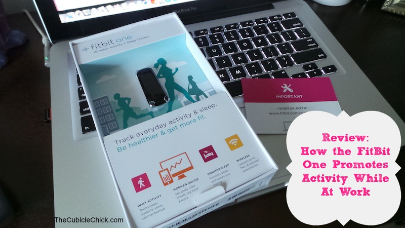 How the FitBit One Promotes Activity While At Work