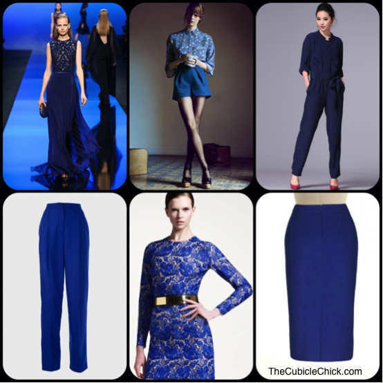 Shades of Blue Trend